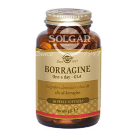 Borragine One a Day GLA | Integratore Solgar