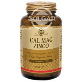 Cal Mag Zinco | Integratore Solgar