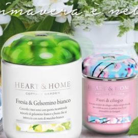 HEART & HOME | Candele in cera di soia, 100% naturali ed ecosotenibili