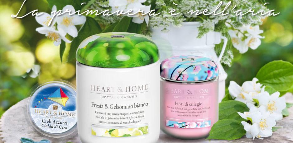 Heart Home Candele.Heart Home Candele In Cera Di Soia 100 Naturali Ed