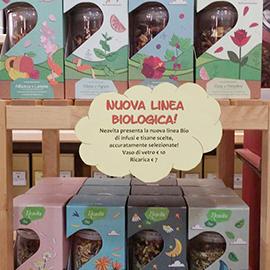 Linea di infusi e tisane certificate biologiche della Neavita | Novità in Erboristeria