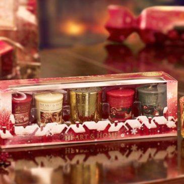 HEART & HOME | Nuove candele natalizie e non in cera di soia, 100% naturali ed ecosostenibili