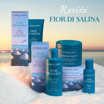 Linea Fior di Salina | Novità Erbolario in Erboristeria