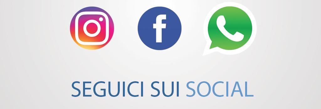 Seguici su Facebook Instagram e Whatsapp | Fantastiche promozioni ...