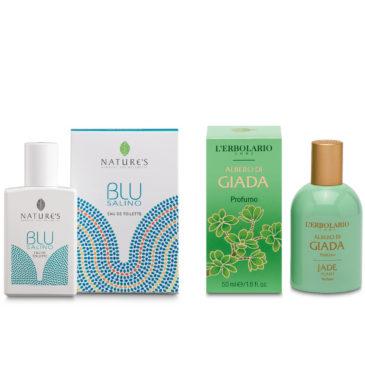 Blu Salino e Albero di Giada | Prodotti novità in Erboristeria