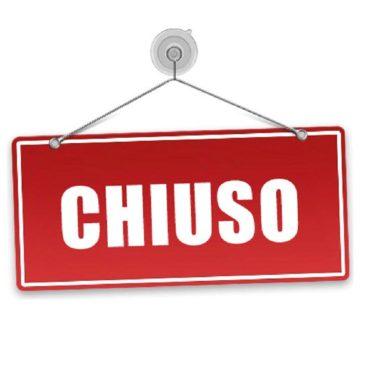 Chiusura per Ristrutturazione e Ferie 12 – 25 agosto 2020